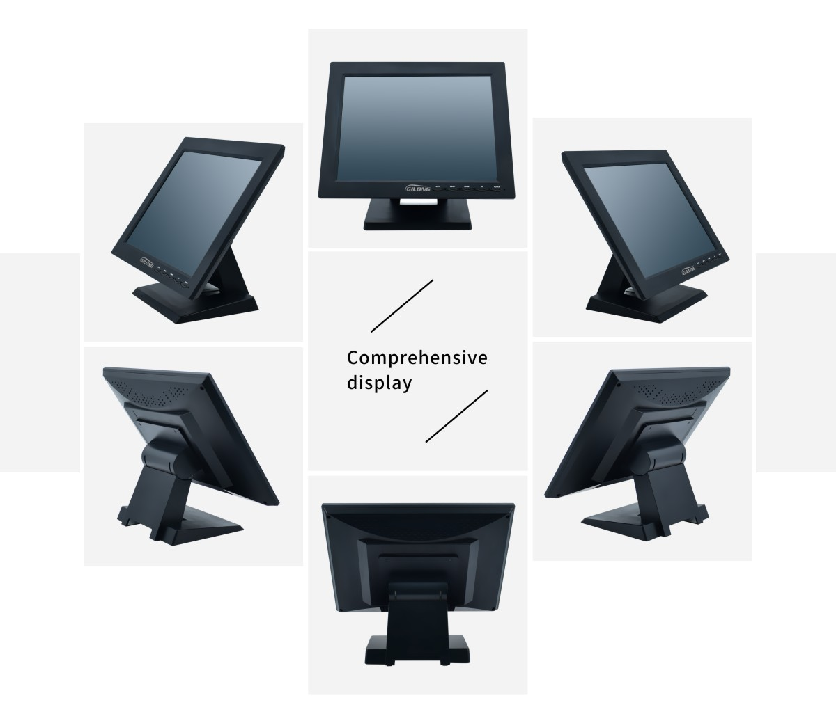 desktop touch display